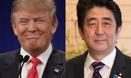 Donald Trump sap gap Thu tuong Nhat - Anh 1