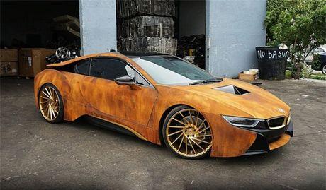 La mat voi phien ban BMW i8 'ri set' doc nhat cua Austin Mahone - Anh 1