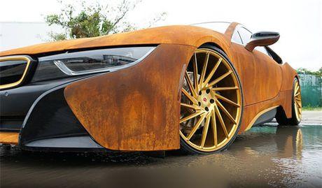 La mat voi phien ban BMW i8 'ri set' doc nhat cua Austin Mahone - Anh 2