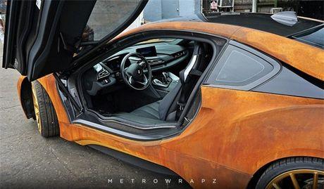 La mat voi phien ban BMW i8 'ri set' doc nhat cua Austin Mahone - Anh 3