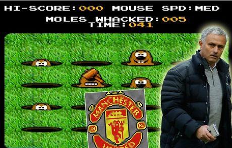 Mourinho dang bi... lam phan o M.U? - Anh 1