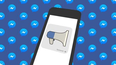 Facebook vua tung tinh nang quang cao tren Messenger - Anh 1
