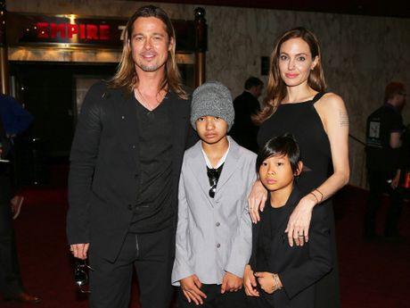 Brad Pitt gia nua xuat hien trong buoi cong chieu phim 'Allied' - Anh 3