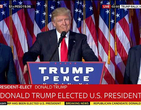 Tieu su tan Tong thong My: Donald Trump tung lam MC truyen hinh - Anh 4