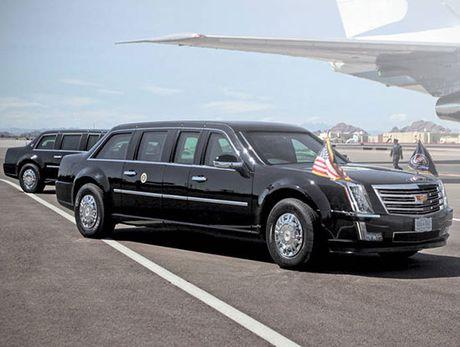 Tong thong My Donald Trump se di mot chiec Cadillac limousine moi? - Anh 1