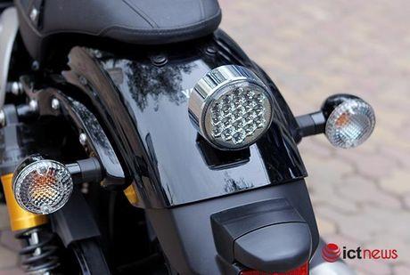 Soi chi tiet Yamaha XV950 2016 gia hon 300 trieu dong tai Viet Nam - Anh 4