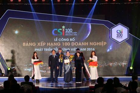 SASCO dat top 10 doanh nghiep phat trien ben vung - Anh 1