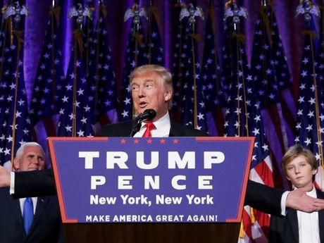 100 ngay dau o cuong vi tong thong, ong Trump se lam gi - Anh 1