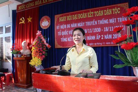 Pho Chu tich Truong Thi Ngoc Anh du Ngay hoi Dai doan ket toan dan toc tai Binh Phuoc - Anh 1