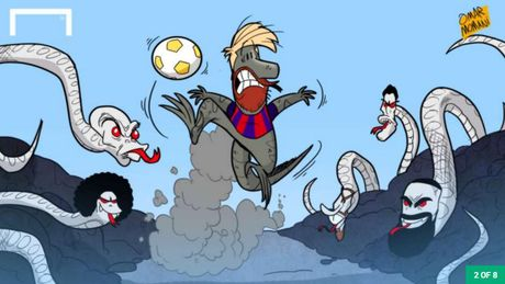 Than lan Messi chay thoat ky dieu khoi lu ran doc - Anh 1