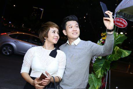 Thuy Hien di su kien cung Ngoc Khanh V-music - Anh 2