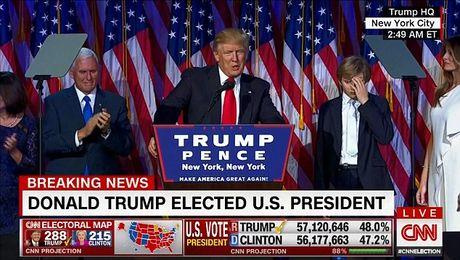 'Tieu Donald Trump' ga gat o le an mung thanh tam diem mang - Anh 1