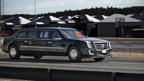 Sieu limousine cua Tong thong Donald Trump co gi moi? - Anh 3