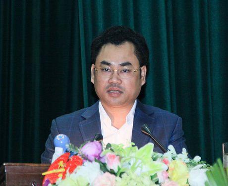Ong Trinh Viet Hung - Pho chu tich UBND tinh Thai Nguyen: Thai Nguyen day manh truyen thong ve TechDemo - Anh 1