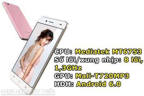 Can canh smartphone Nhat chuyen selfie, RAM 3 GB, thiet ke dep - Anh 1