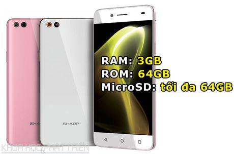 Can canh smartphone Nhat chuyen selfie, RAM 3 GB, thiet ke dep - Anh 2