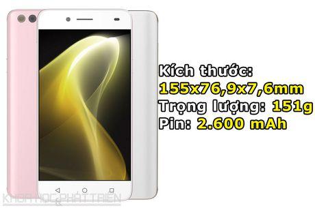 Can canh smartphone Nhat chuyen selfie, RAM 3 GB, thiet ke dep - Anh 3