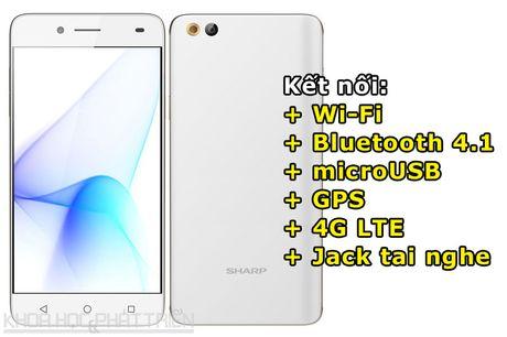 Can canh smartphone Nhat chuyen selfie, RAM 3 GB, thiet ke dep - Anh 4