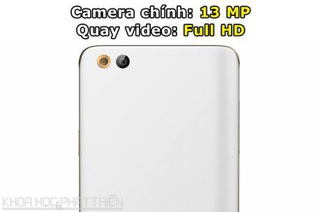 Can canh smartphone Nhat chuyen selfie, RAM 3 GB, thiet ke dep - Anh 6