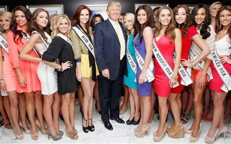 Donald Trump: Vang, song bac, hoa hau va nhung lan 'suyt chet' - Anh 2