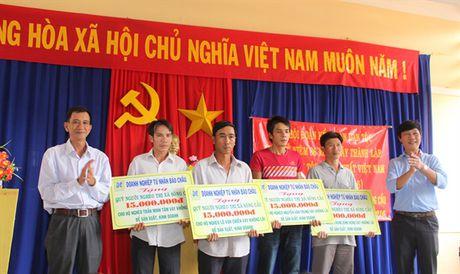 DNTN Bao Chau ung ho Quy vi nguoi ngheo - Anh 1