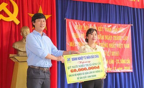 DNTN Bao Chau ung ho Quy vi nguoi ngheo - Anh 2