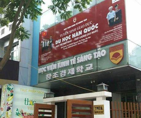 Tham tra chuc danh GS.TS cua hieu truong dung len ban chui hoc vien - Anh 1