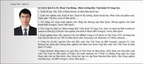 Tham tra chuc danh GS.TS cua hieu truong dung len ban chui hoc vien - Anh 2