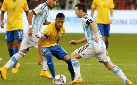 Brazil – Argentina: Cuoc noi chien giua Messi va Neymar - Anh 1