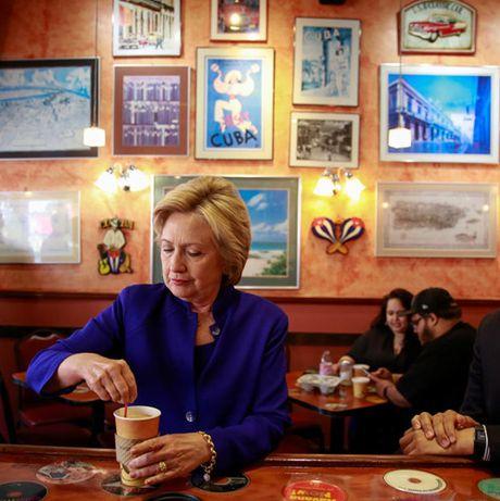 Nhung 'cung bac cam xuc' cua Hillary Clinton trong chien dich tranh cu - Anh 5