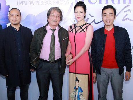 Dem nhac Pho Duc Phuong vang hai 'nang tho' My Linh va Minh Thu - Anh 1