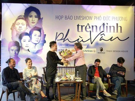 Dem nhac Pho Duc Phuong vang hai 'nang tho' My Linh va Minh Thu - Anh 2