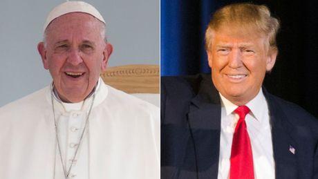 Giao hoang Francis tu choi dua ra phan xet ca nhan voi ong Trump - Anh 1