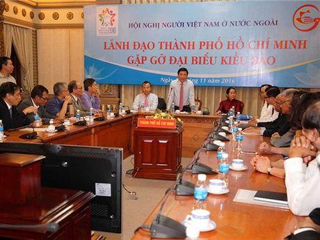 Lanh dao TP Ho Chi Minh gap go dai bieu kieu bao tieu bieu - Anh 1