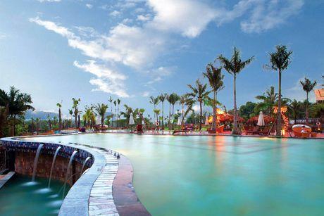Ghe nhung khu resort sang chanh, dep ngat ngay gan Ha Noi - Anh 3