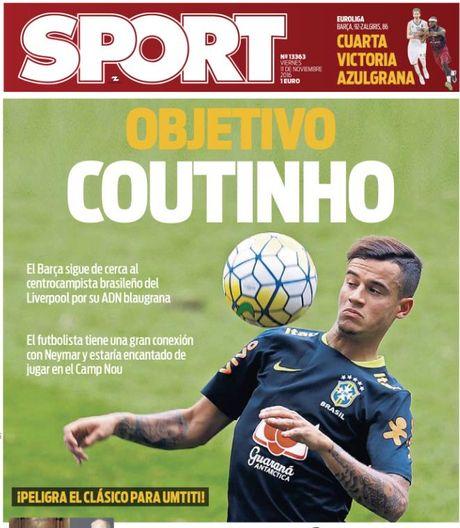Bao Catalunya: Coutinho co DNA Barca - Anh 1