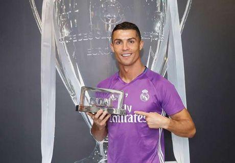 Cau thu xuat sac nhat 2016: Ronaldo so 1, Messi thu 4 - Anh 1
