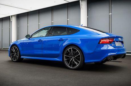 Audi RS7 Sportback sieu doc voi 'ao xanh' Porsche - Anh 3