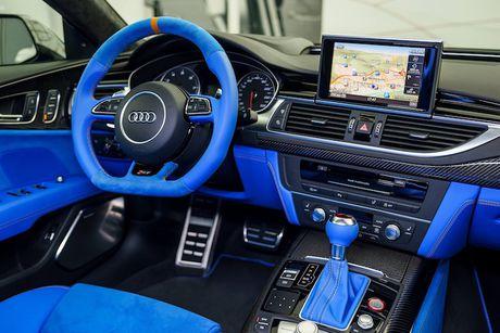 Audi RS7 Sportback sieu doc voi 'ao xanh' Porsche - Anh 4