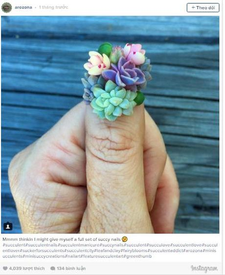 Trao luu 'nail mong nuoc' can quyet Instagram - Anh 2
