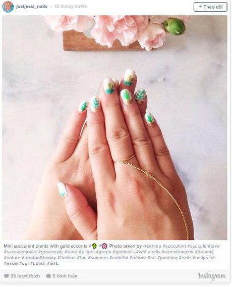 Trao luu 'nail mong nuoc' can quyet Instagram - Anh 7