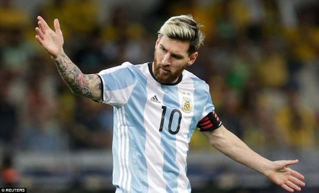 Messi mo nhat, Argentina thua tham Brazil - Anh 2