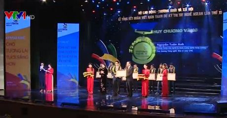 Vinh danh thi sinh dat giai Ky thi tay nghe ASEAN - Anh 1