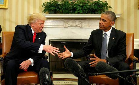 Tong thong Obama gap ong Trump tai Nha Trang lau hon du kien - Anh 1