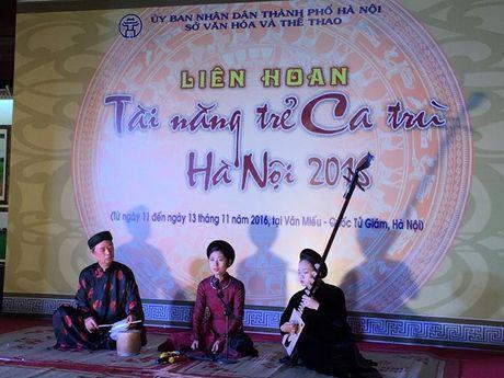 Lien hoan tai nang tre ca tru Ha Noi nam 2016 - Anh 1