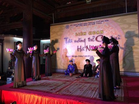 Lien hoan tai nang tre ca tru Ha Noi nam 2016 - Anh 3