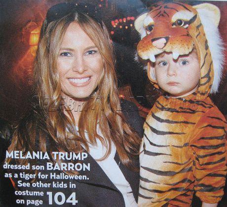 Cau con trai ut xinh xan, de thuong cua Donald Trump - Anh 7