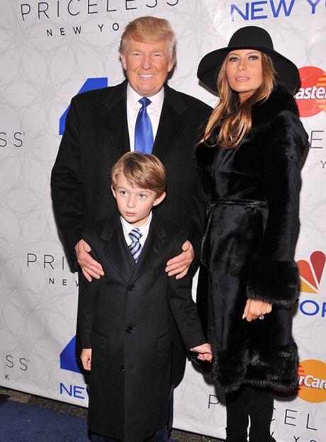 Cau con trai ut xinh xan, de thuong cua Donald Trump - Anh 9
