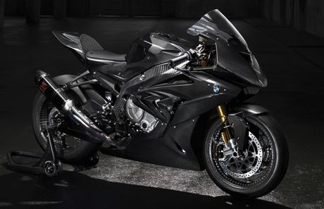 BMW he lo hinh anh ve HP4 Race phien ban carbon - Anh 1
