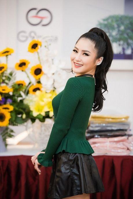 Huong Tram quyen ru hoi ngo Ngoc Han, Huyen My trong su kien moi - Anh 8